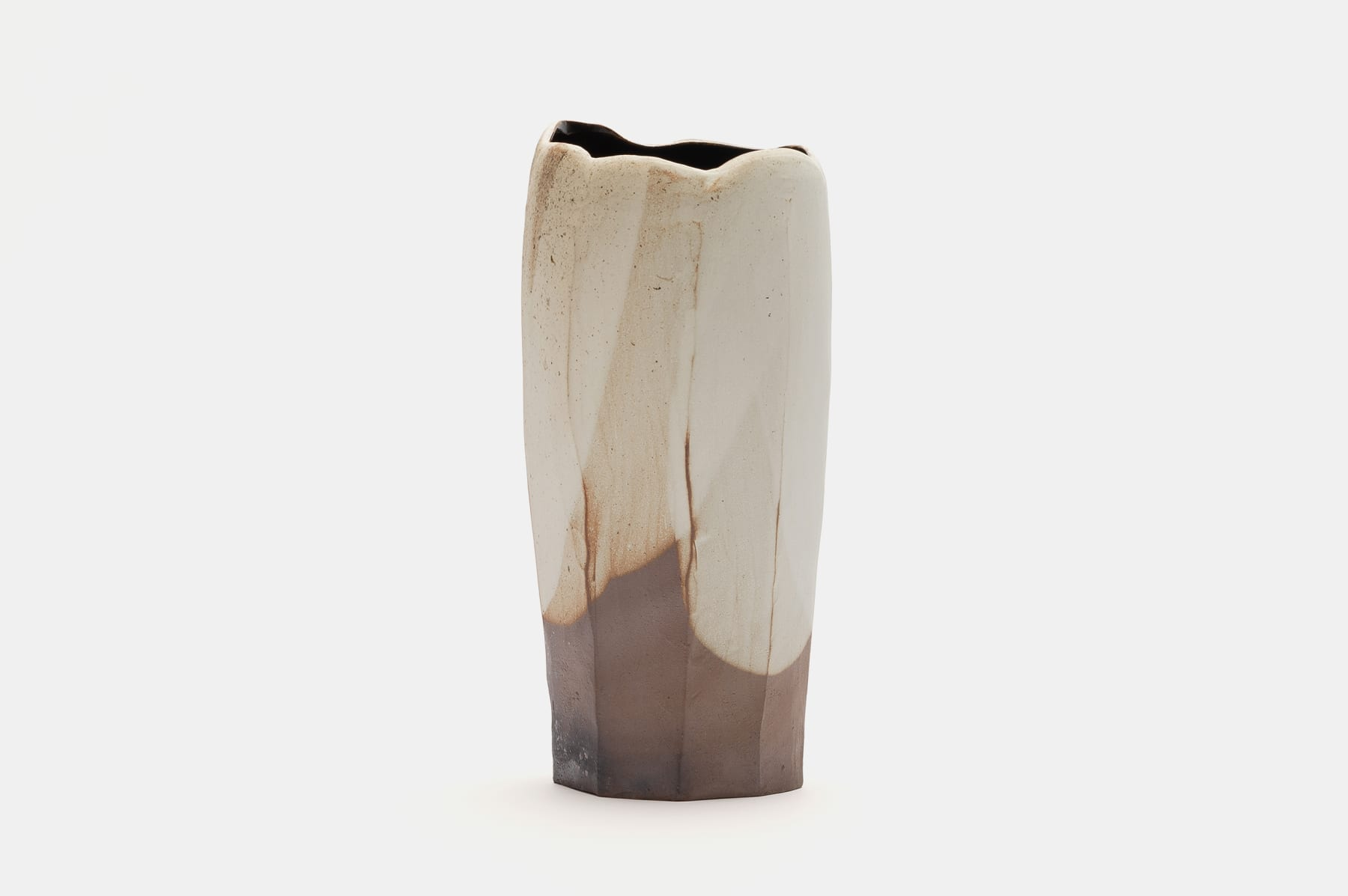 Hosai Matsubayashi XVI, Kohiki Vase 粉引 花器, 2019