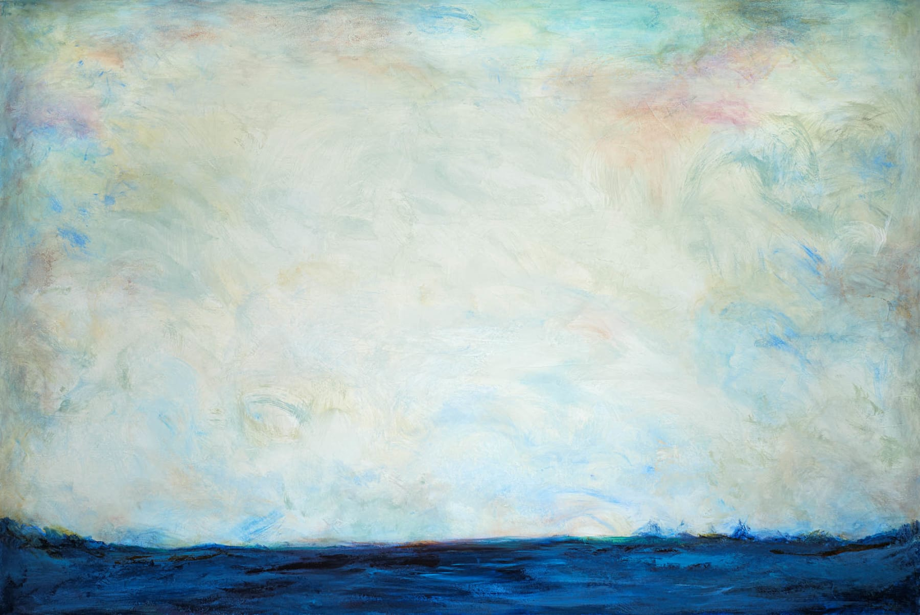 Patricia Qualls, Seascape, 2019