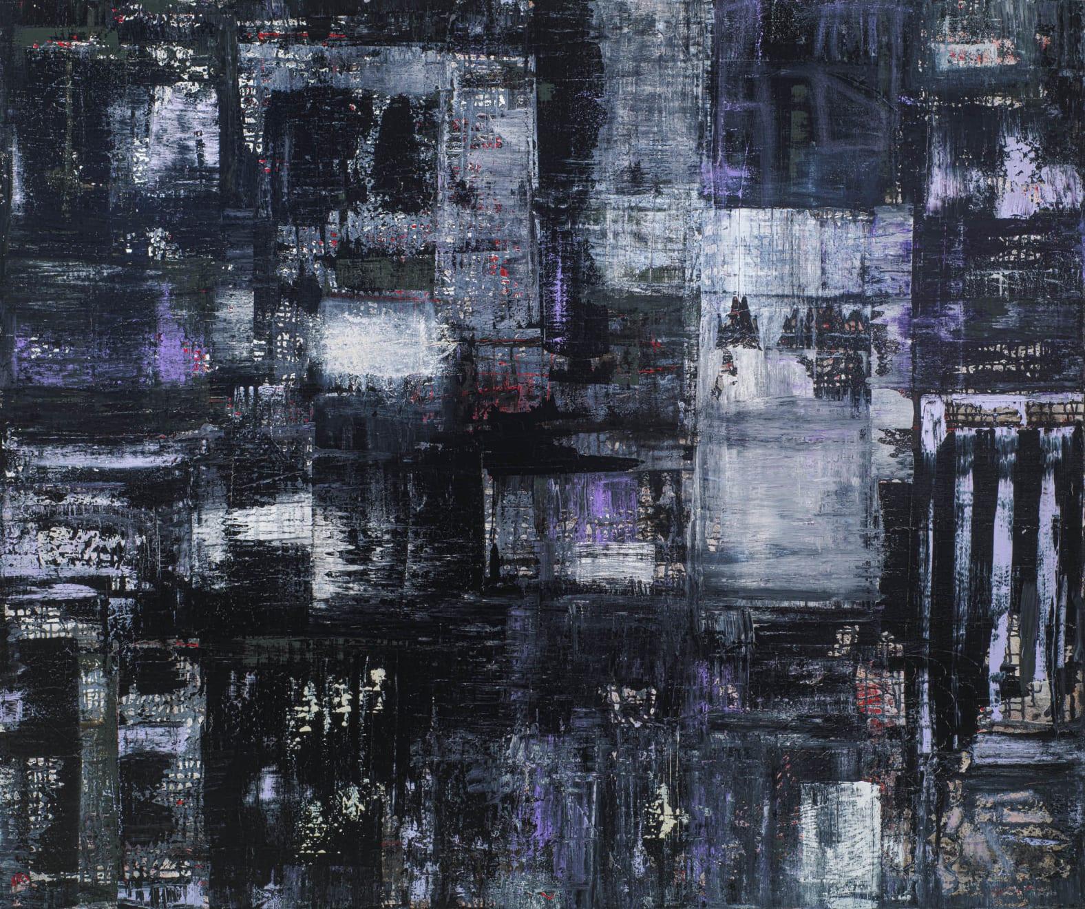 Patricia Qualls, City Layers, 2020