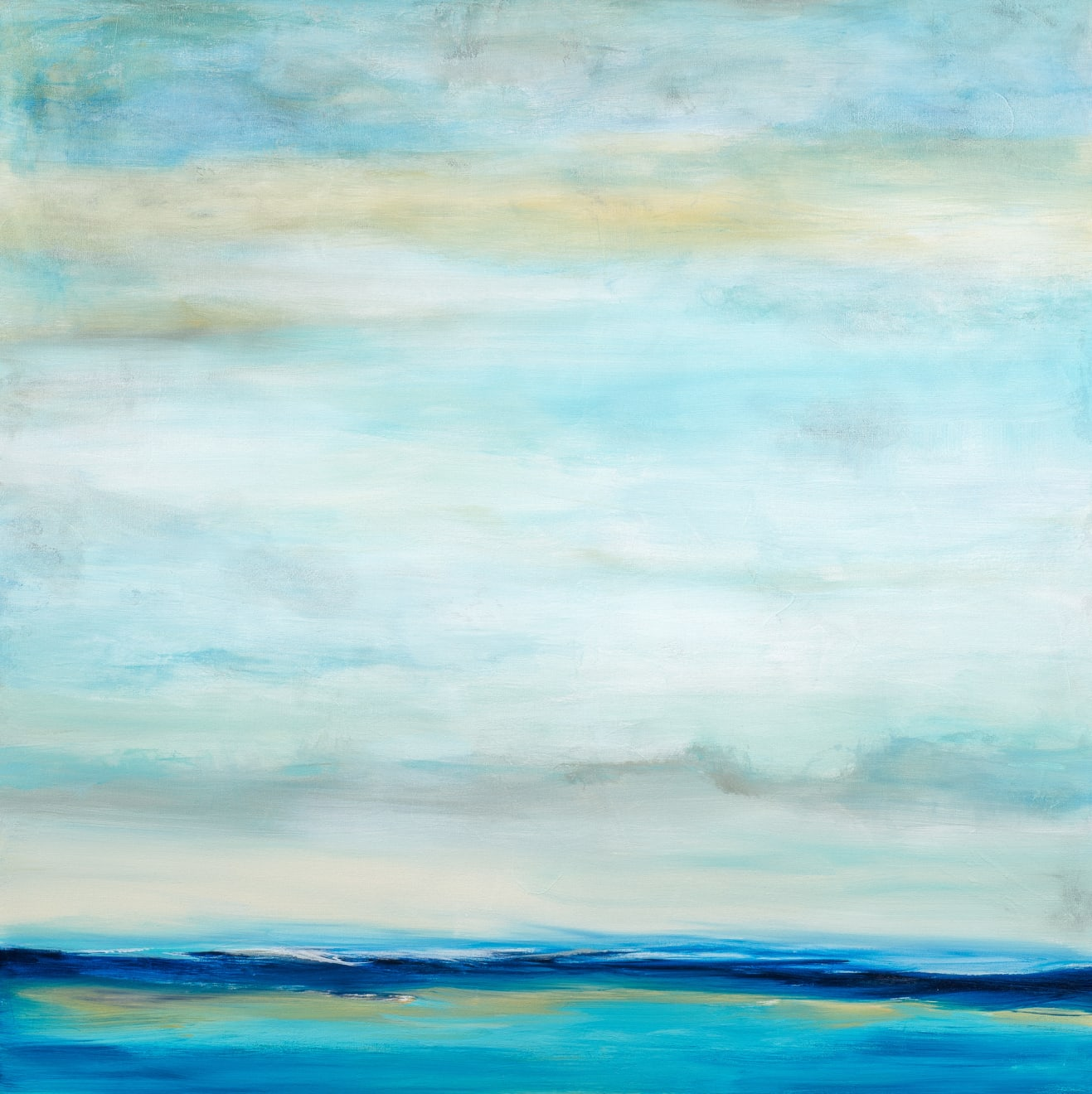 Patricia Qualls, Seascape, 2020