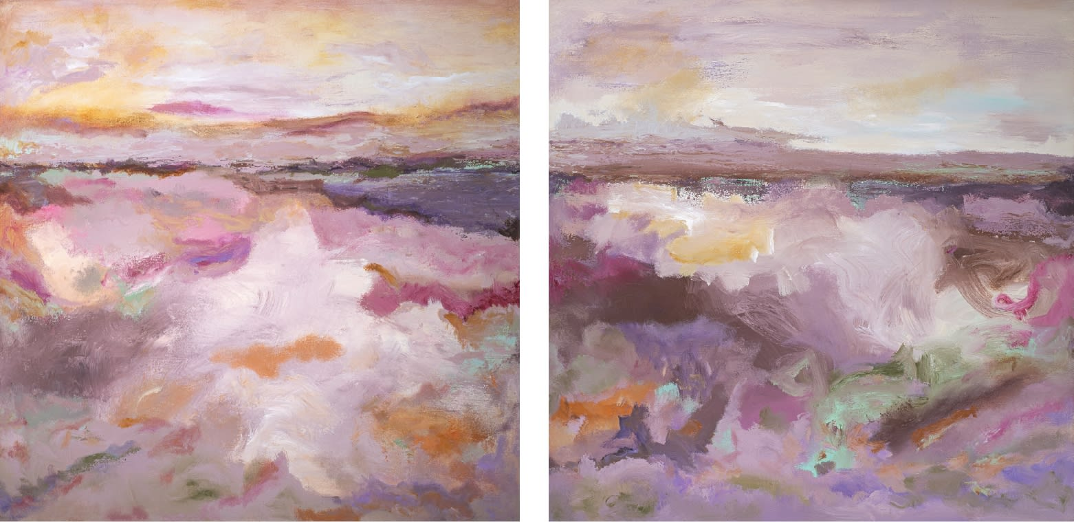 Patricia Qualls, Nature (Diptych), 2018