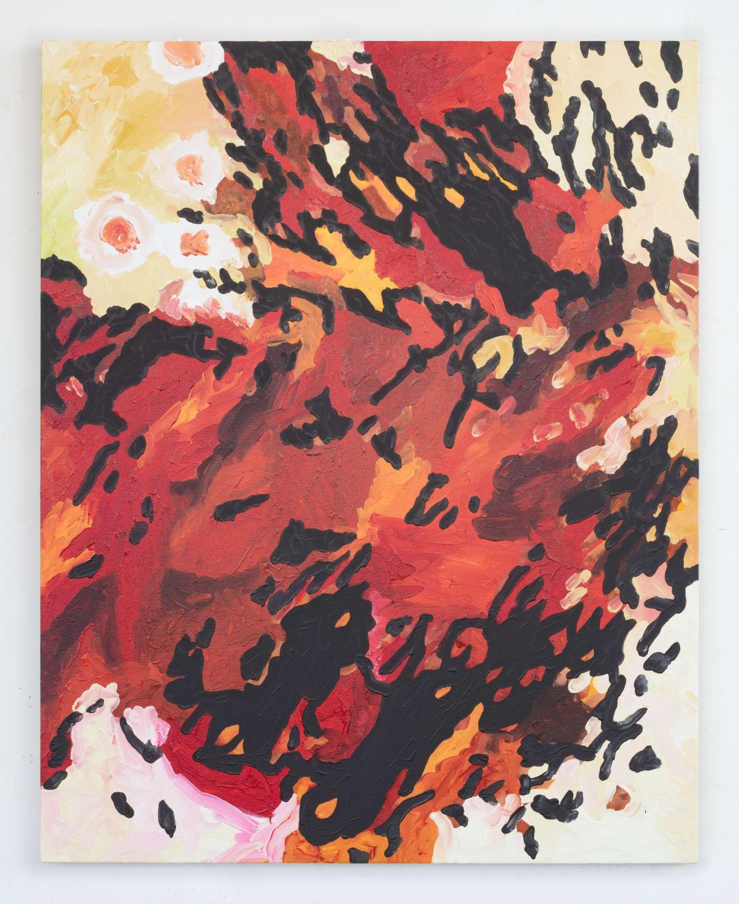 Rob Ventura, Euonymus Elatus (Burning Bush II), 2017