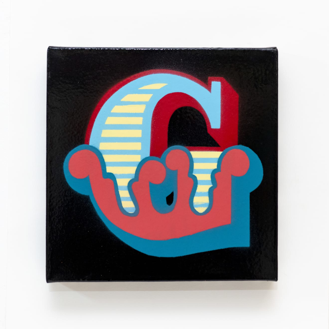 'G' New Circus Single Letter Canvas