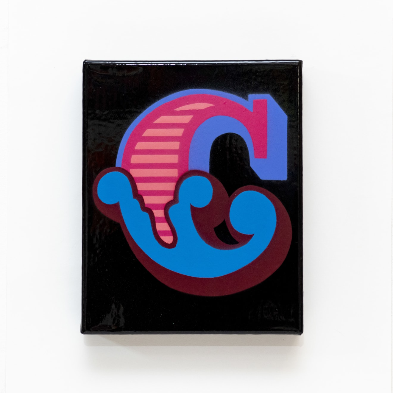'C' New Circus Single Letter Canvas