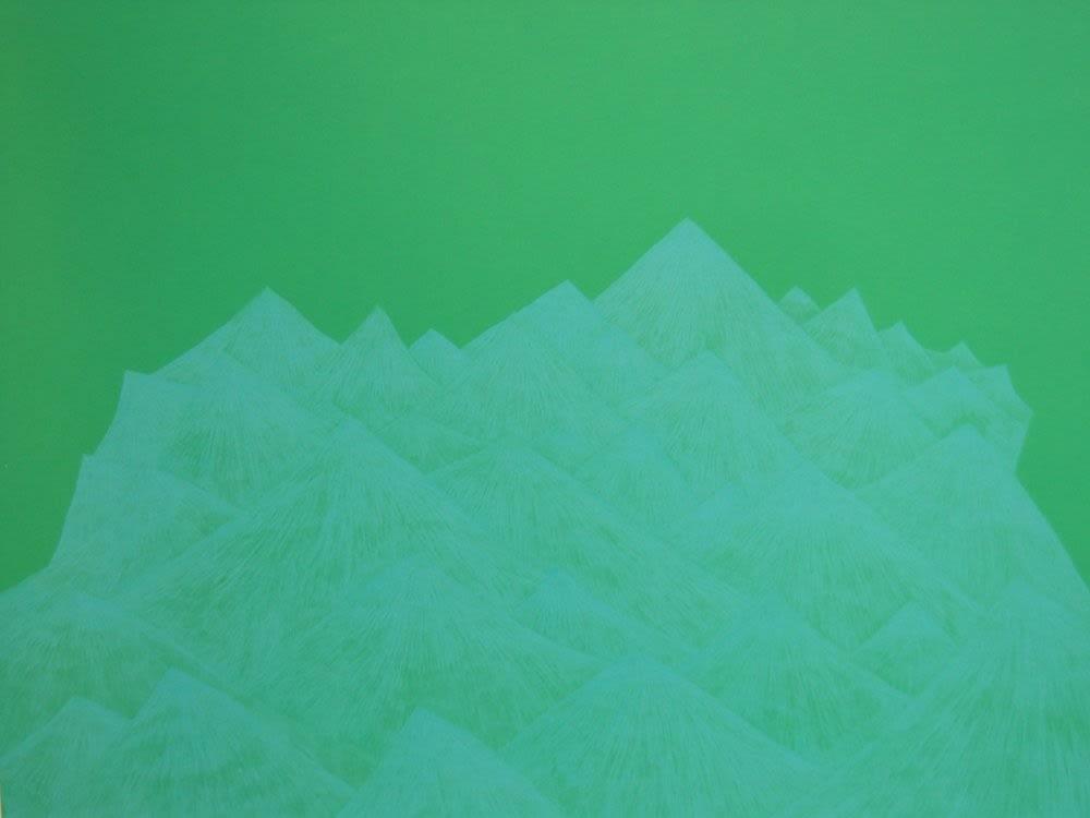 Jennifer Douglas, Archenland (turquoise and green), 2005