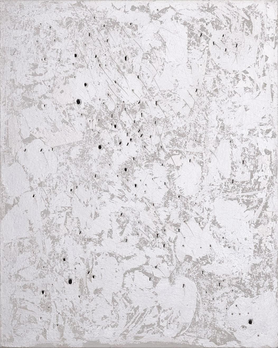 Jennifer Douglas, Entropic Cosmos (Silver I), 2019