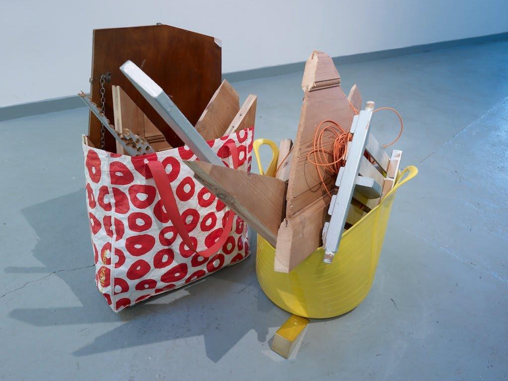Jennifer Douglas, Trug/Bag, 2012