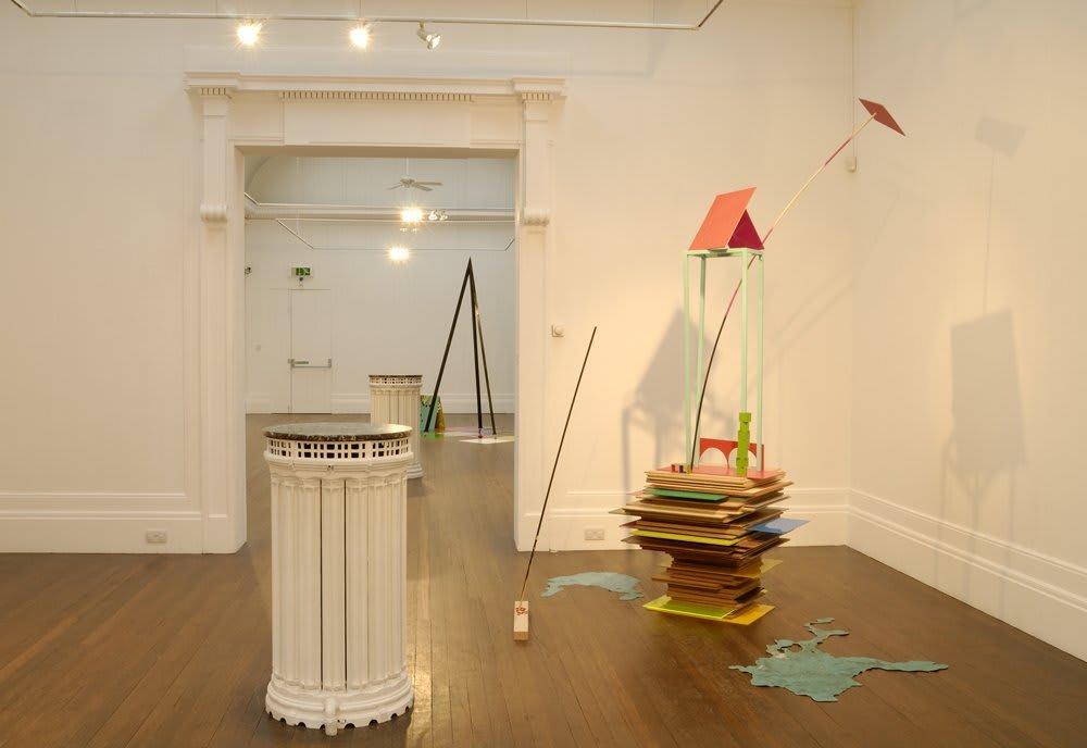 Jennifer Douglas, FANTASTICA, Installation View, 2008