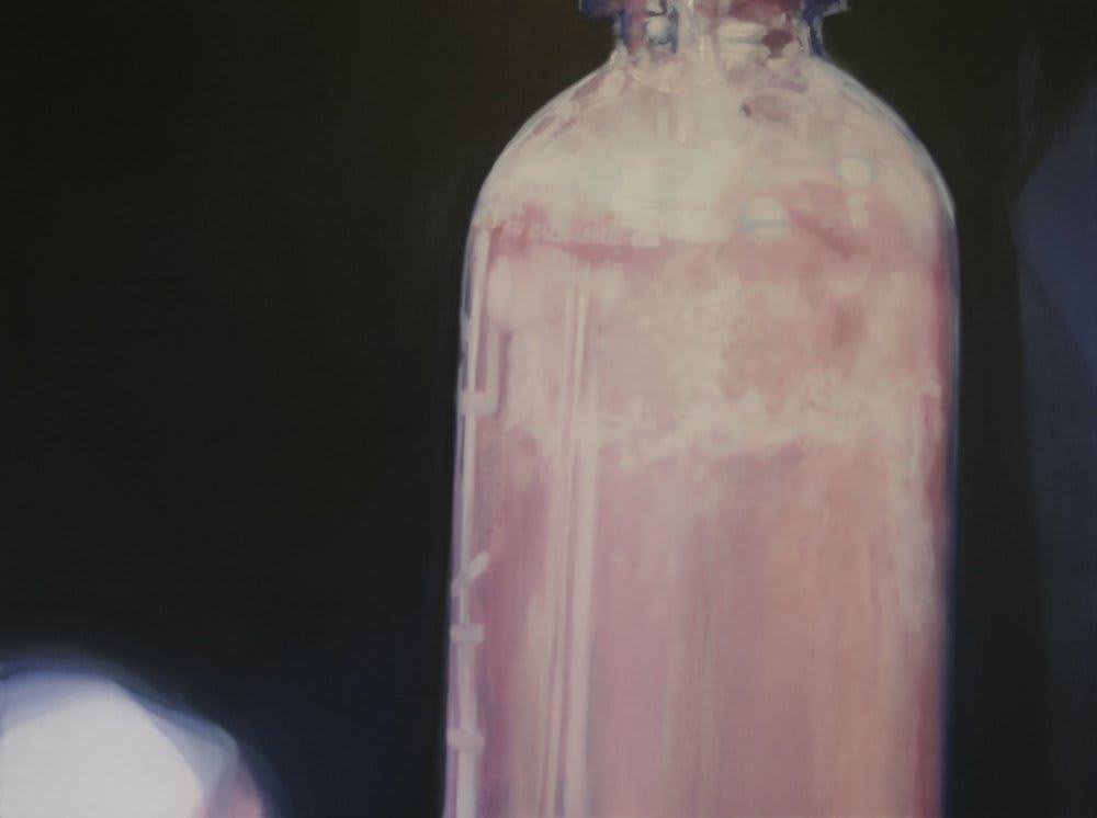 Rachel Lancaster, Pink Bottle, 2009