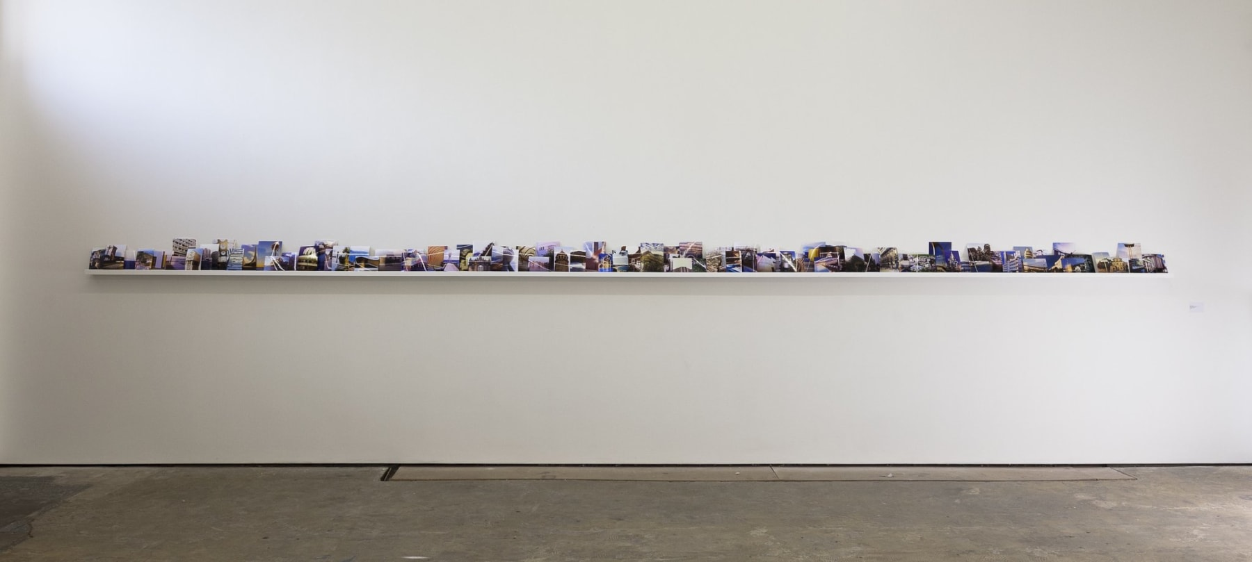 Cath Campbell, And we said nothing, all the day, 2012