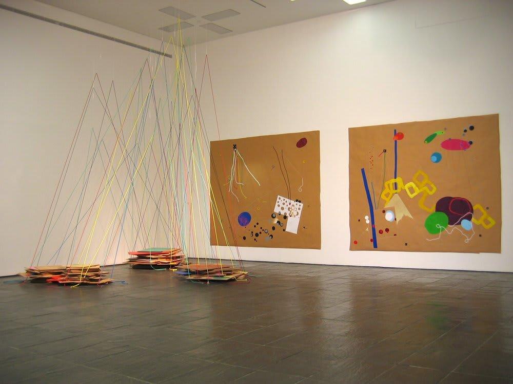 Jennifer Douglas, Rolling Showdown, Installation View, 2006