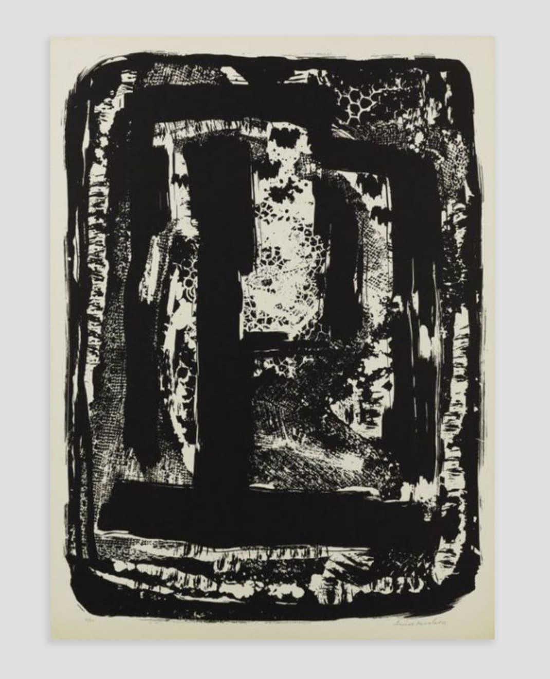 Louise Nevelson, Untitled, 1963