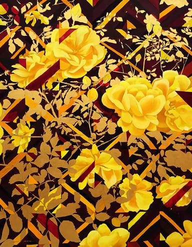 Matthew Mullins, Yellow Roses, 2019