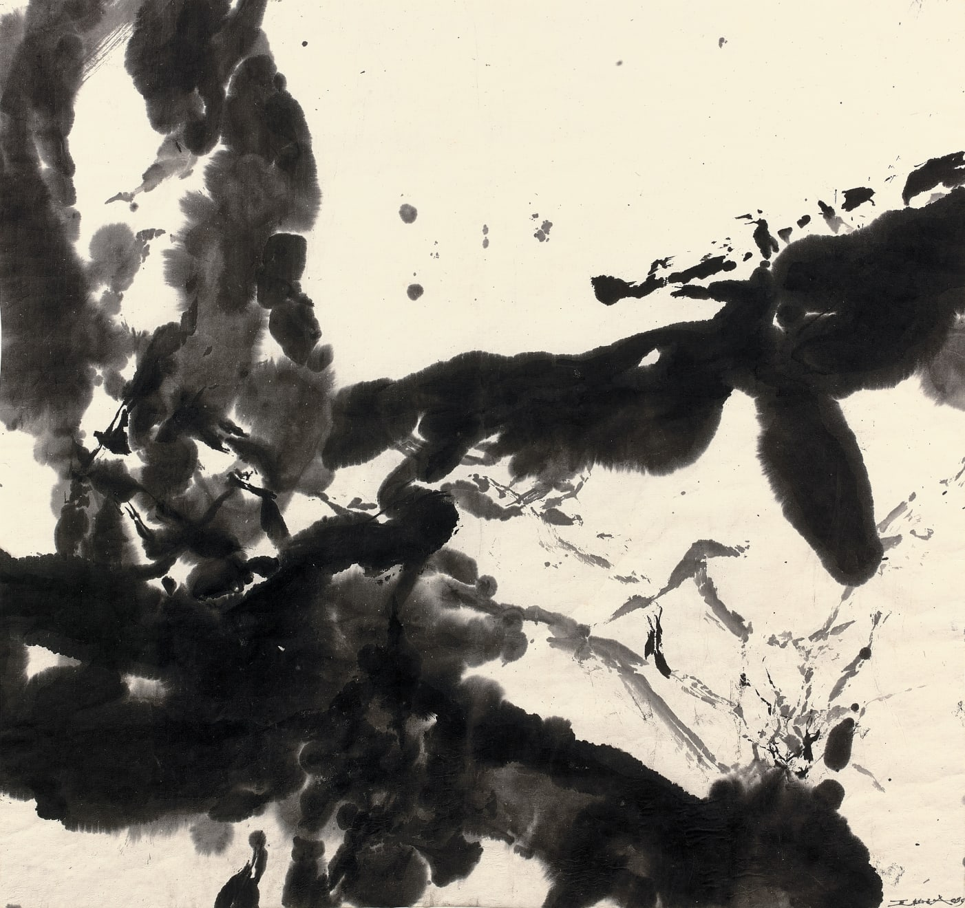 Title: Composition Artist: Zao Wou-Ki