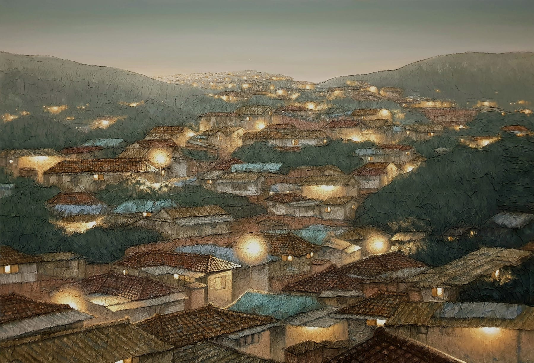 Joung Young-ju, High Hills Village, 2020