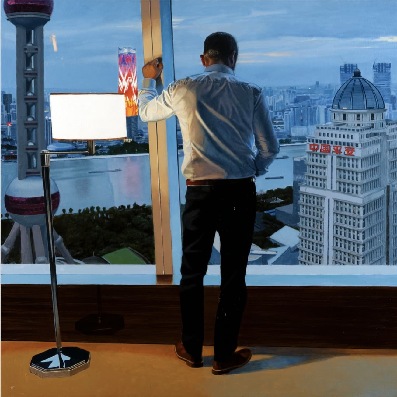 Iain Faulkner, Pudong Window, 2017
