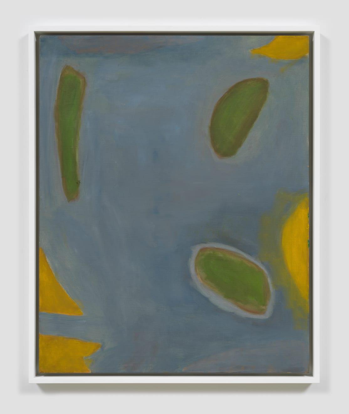 Betty Parsons Fog, c.1970 Acrylic on canvas 30h x 24.25w in (76.20h x 61.59w cm)