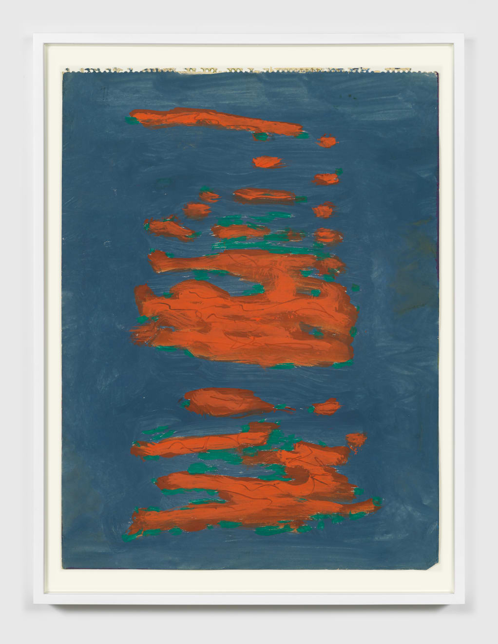 Betty Parsons Untitled, c.1976 Gouache on paper 23.25h x 18w in (59.05h x 45.72w cm)