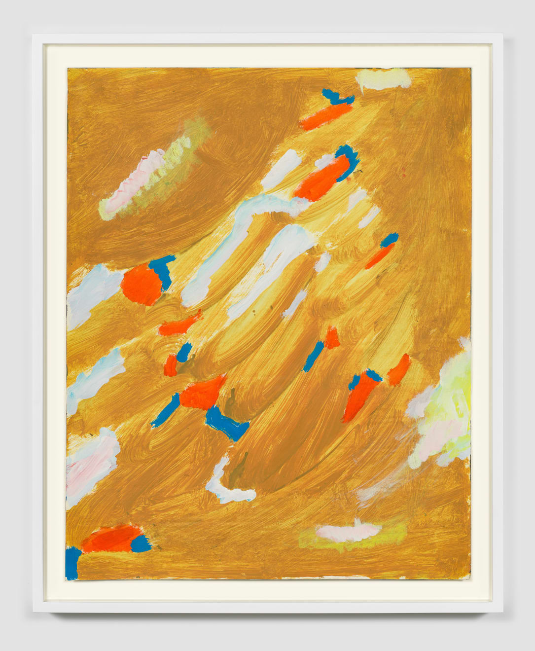 Betty Parsons Untitled, c.1976 Acrylic on paper 24h x 19w x 1.50d in (60.96h x 48.26w x 3.81d cm)