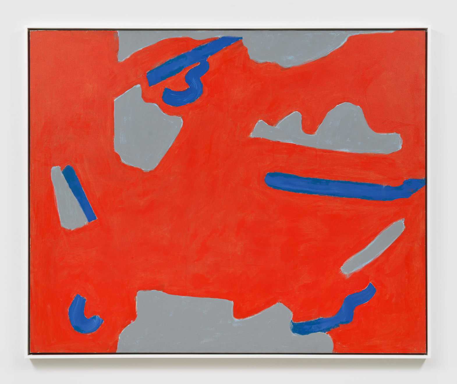 Betty Parsons June 1971, 1971 Acrylic on canvas 53.50h x 65.75w in (135.89h x 167w cm)