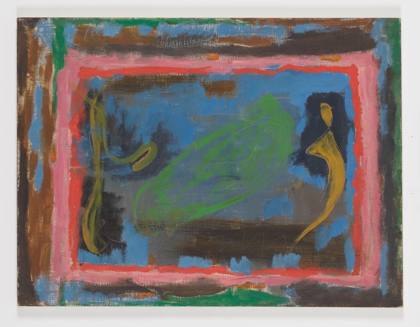 Betty Parsons Untitled, 1956 Acrylic on linen 30h x 40w in (76.20h x 101.60w cm)