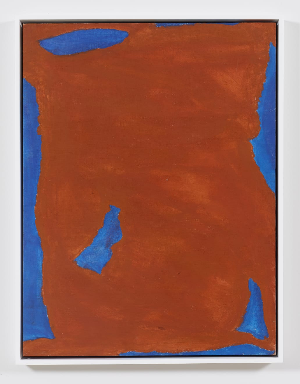 Betty Parsons Brick in the Sky, 1968 Acrylic on linen 39.50h x 30w in (100.33h x 76.2w cm)