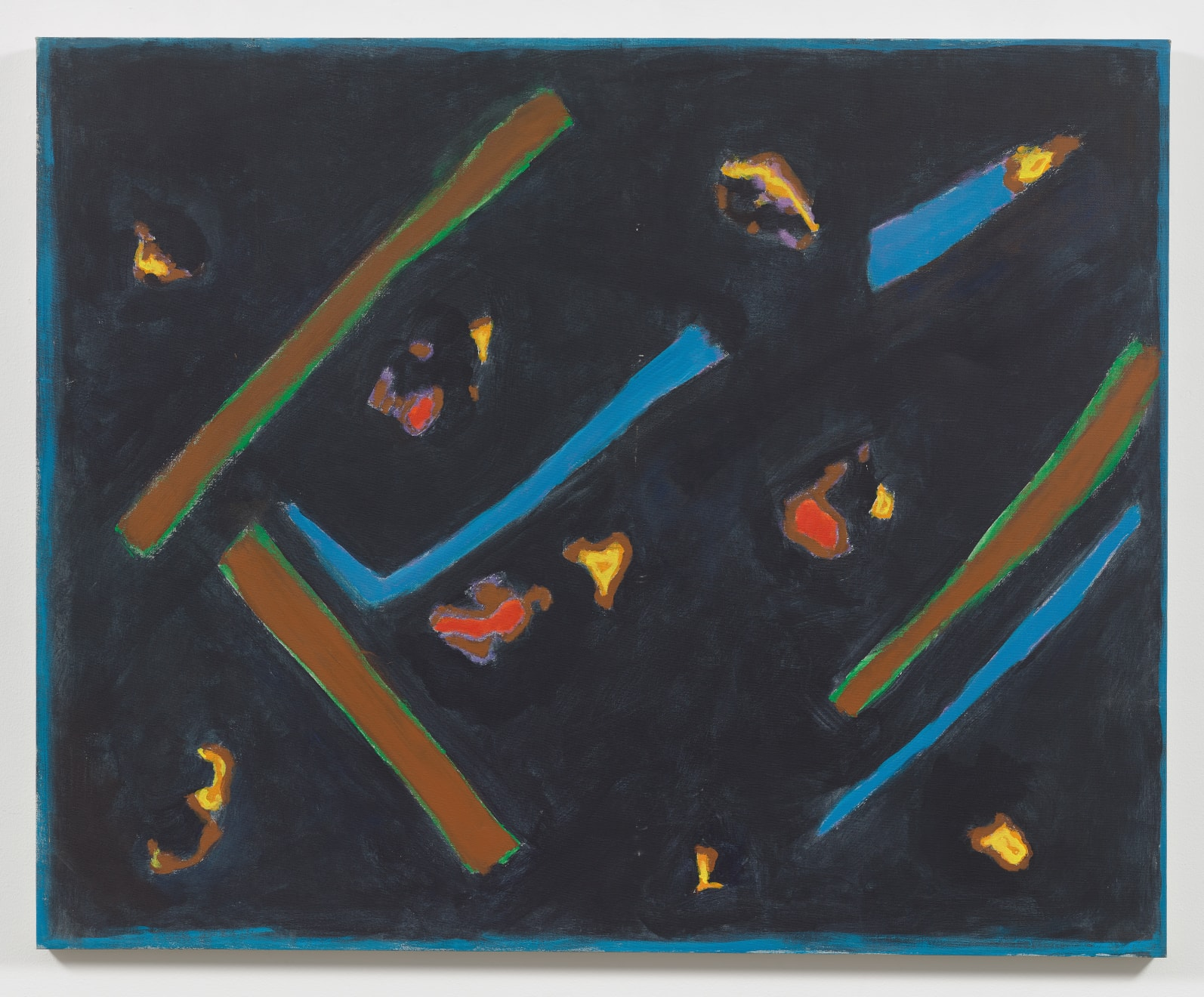 Betty Parsons Untitled, 1971 Acrylic on canvas 42h x 52w in (106.68h x 132.08w cm)