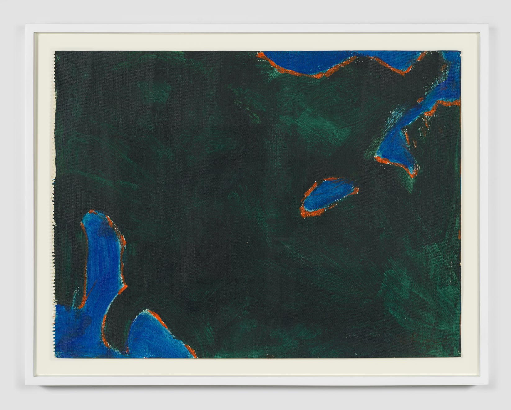 Betty Parsons Untitled, 1976 Acrylic on paper 23.75h x 18w in (60.33h x 45.72w cm)