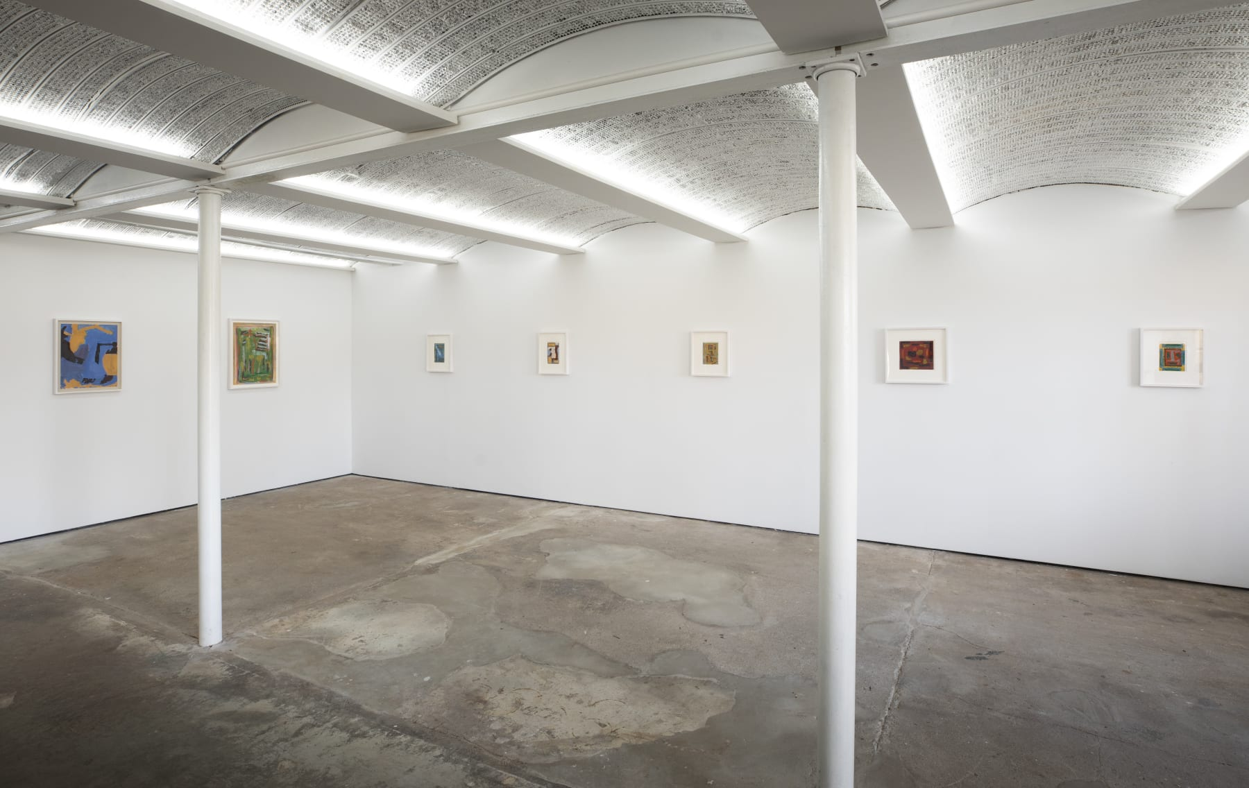 Betty Parsons: 1950s Works on Paper, installation view, Alexander Gray Associates, New York (2020)