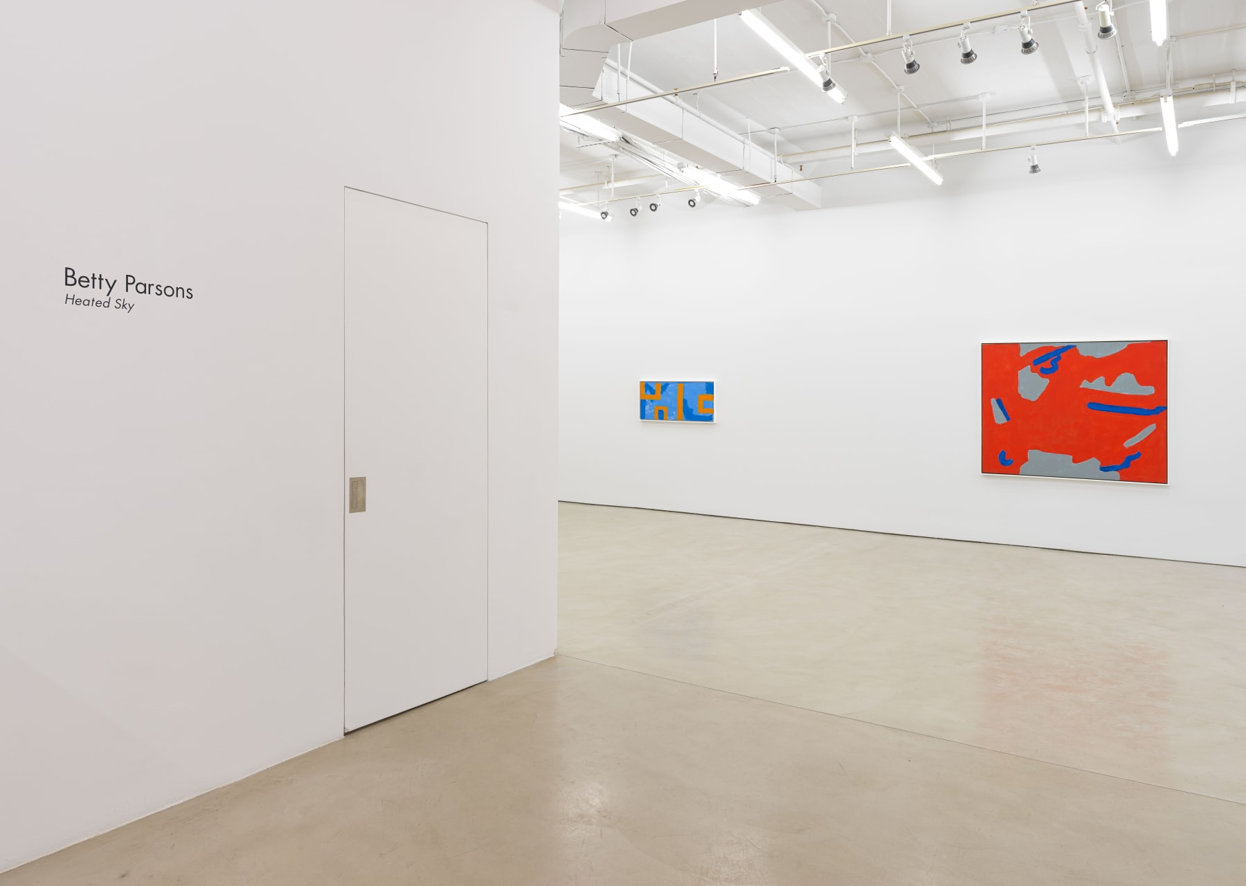 Installation view, Alexander Gray Associates (2020)