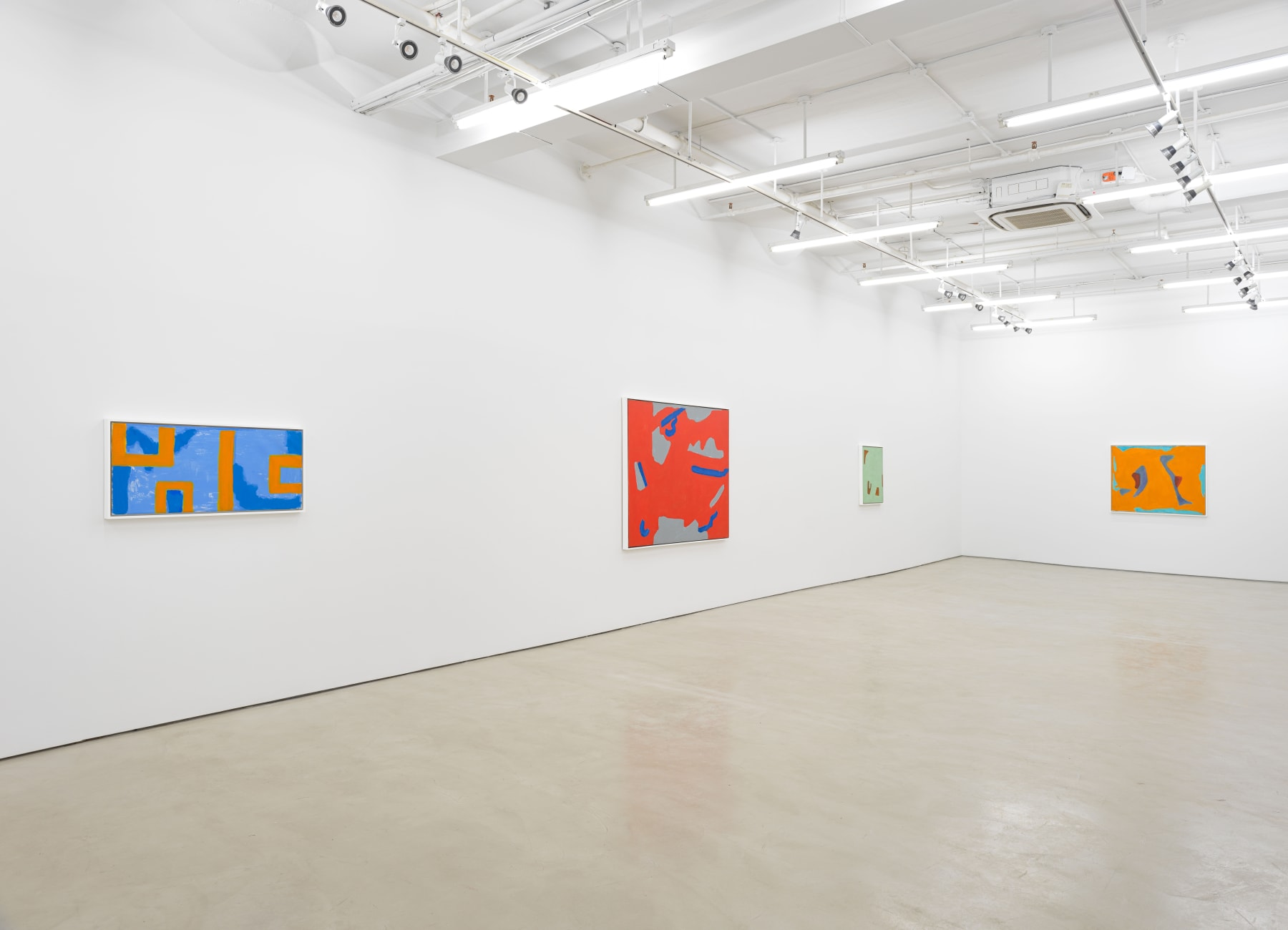 Installation view, Alexander Gray Associates (2020)