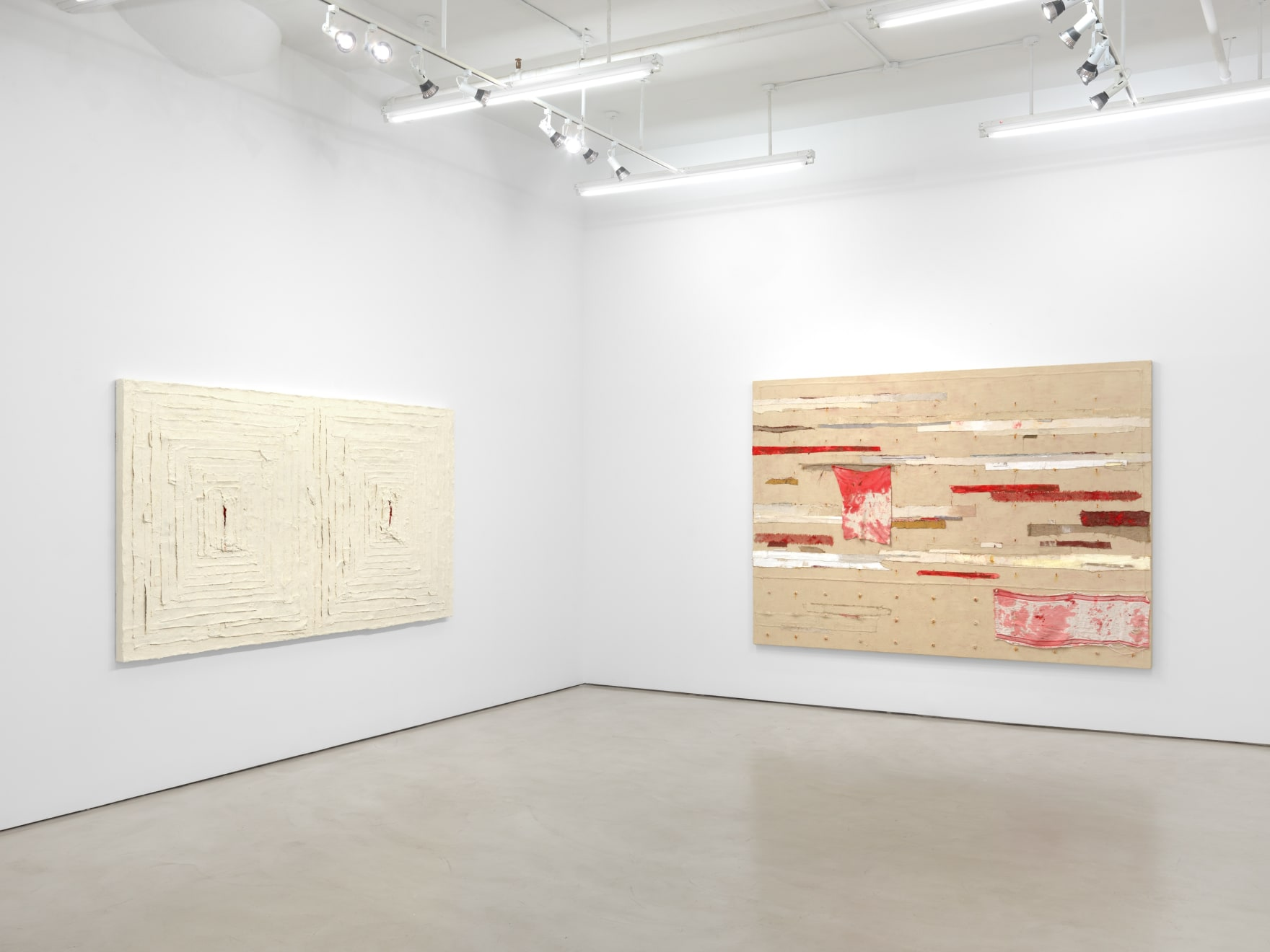 Harmony Hammond: Crossings, installation view, Alexander Gray Associates, New York (2020)