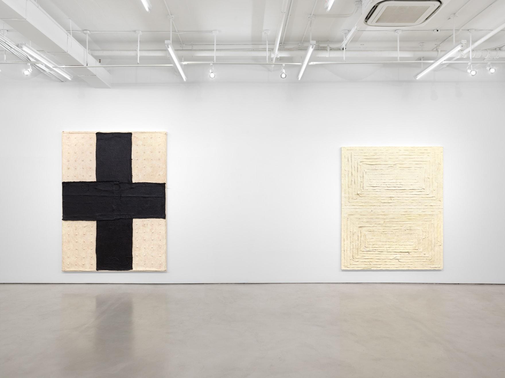 Harmony Hammond: Crossings, installation view, Alexander Gray Associates, New York (2020)