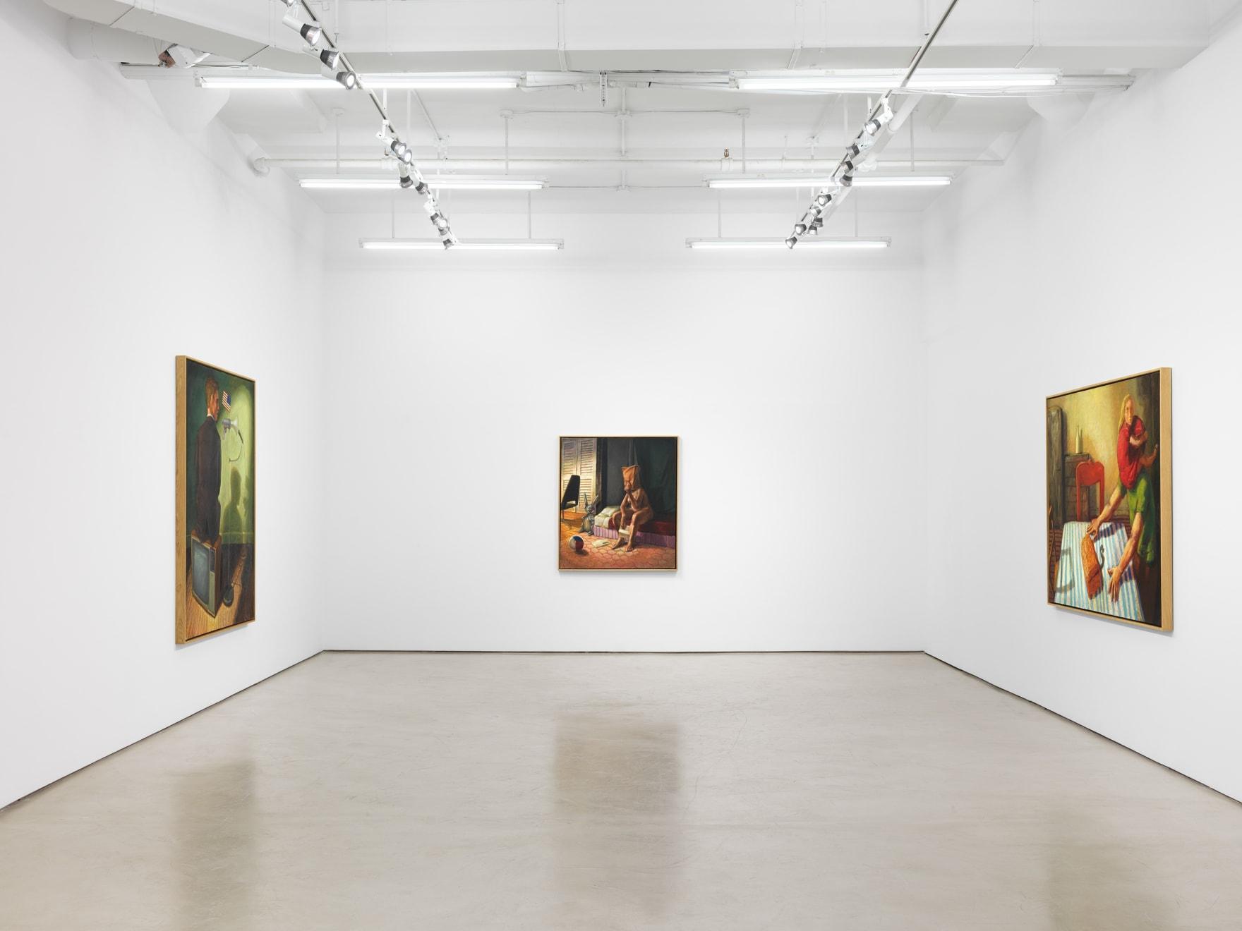 Hugh Steers: Strange State of Being, installation view, Alexander Gray Associates, New York (2021)
