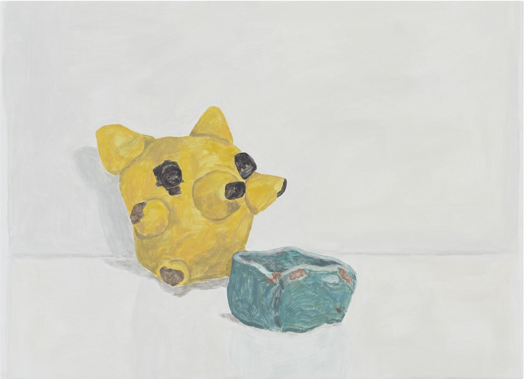 Francesca Fuchs Koala Bear, 2018 acrylic on canvas over board 30 x 41 1/2 in (76.2 x 105.4 cm) FF 46 $7,200