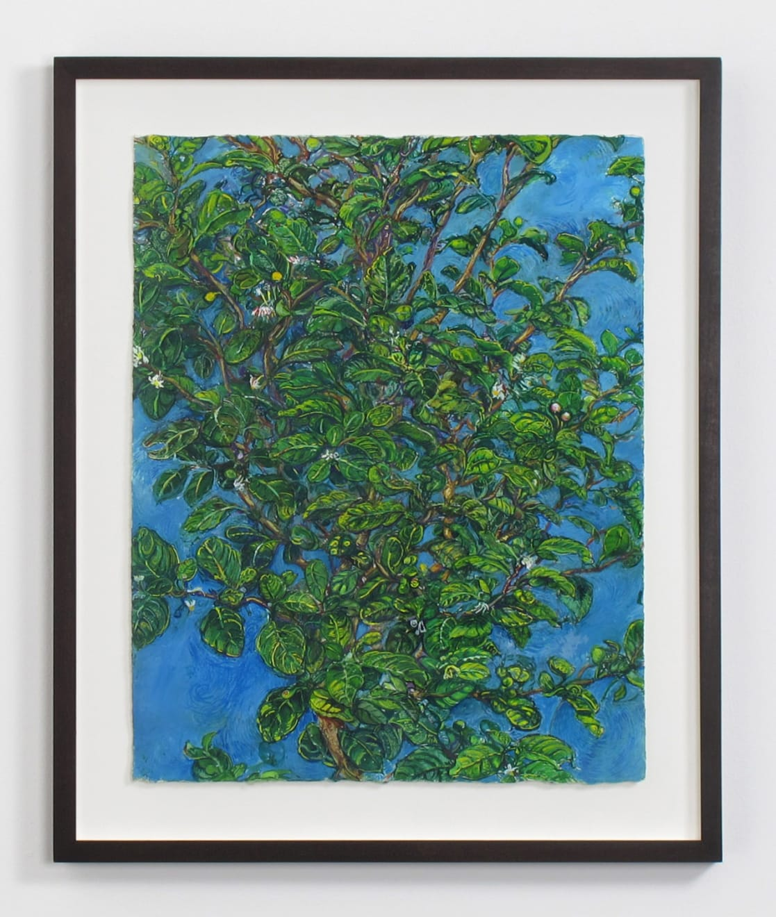 Beth Secor Young Hawthorne Late Spring, 2013 ink, gouache, and pencil on paper 20 x 16 in (50.8 x 40.6 cm) BS 235 $3,750