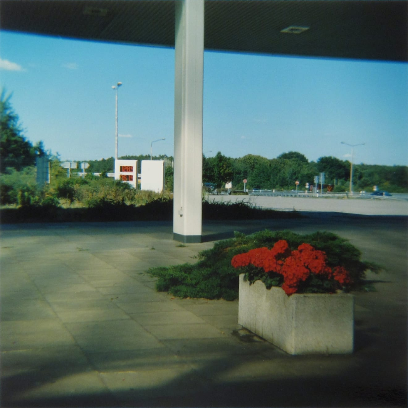 Amy Blakemore Gas Station, 2018 chromogenic print 15 x 15 in (38.1 x 38.1 cm) ABL 255 $3,000