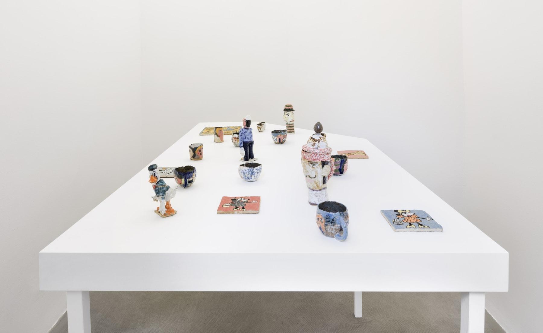 installation view, kaufmann repetto, milan, 2016