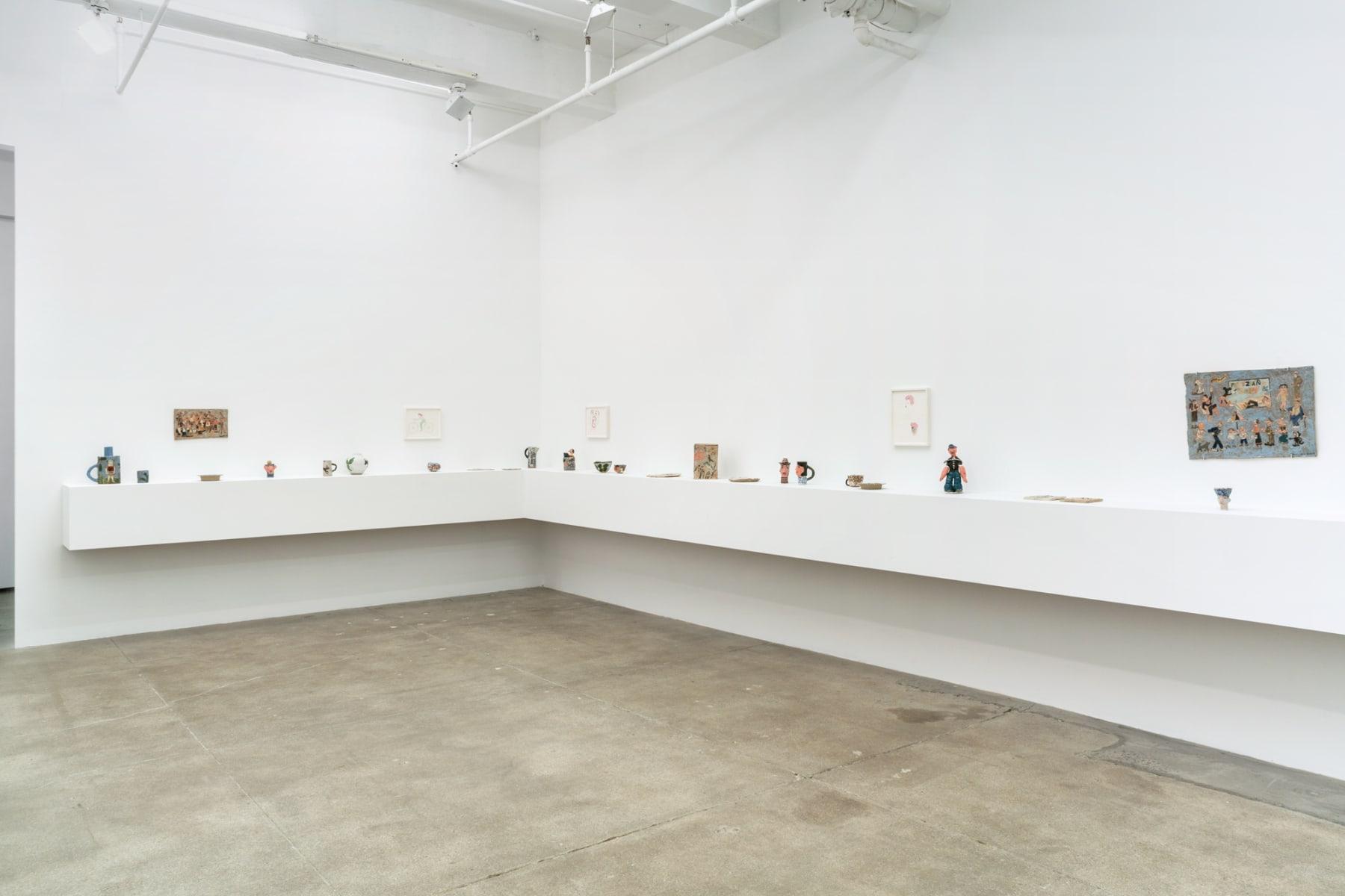 installation view, kaufmann repetto, new york, 2017