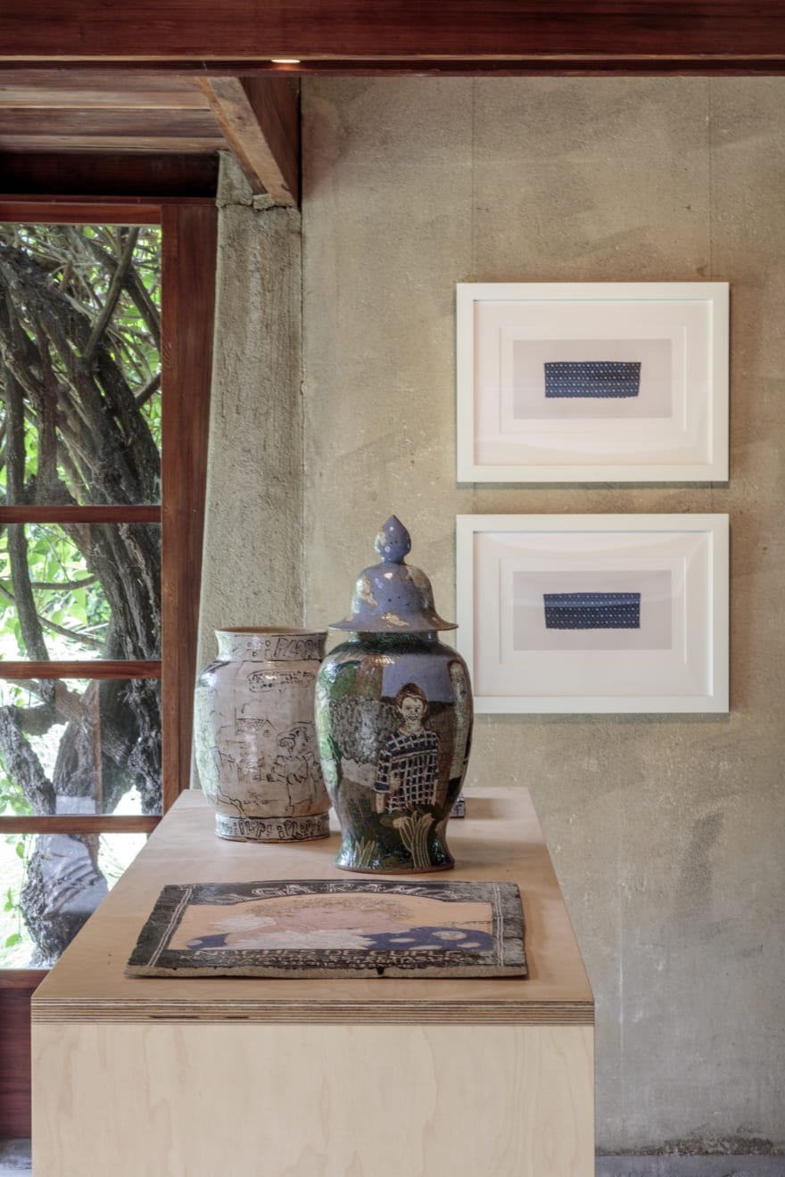 installation view, schindler house, mak center, los angeles, 2016