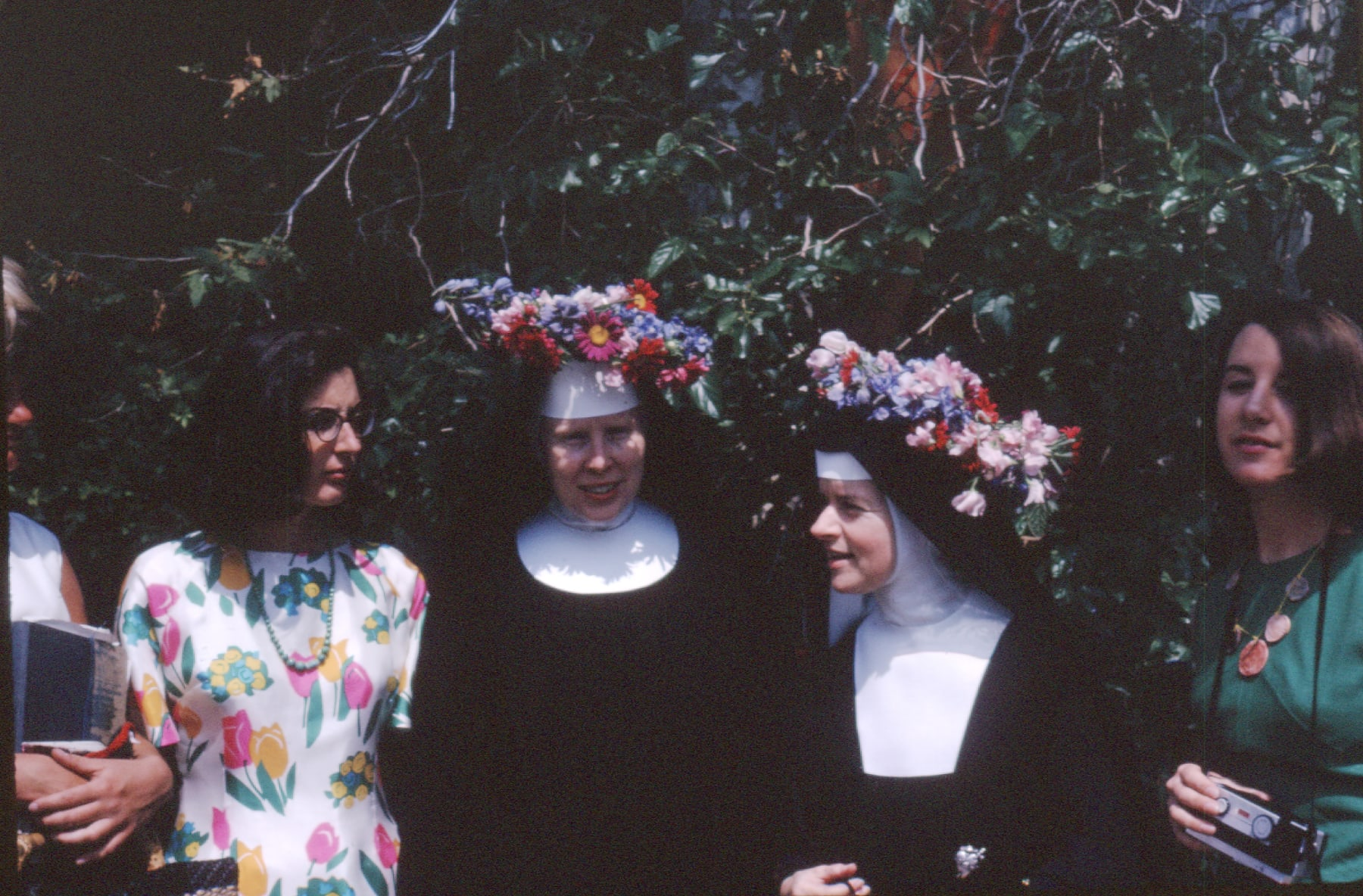 Immaculate Heart College Mary's Day, 1964.
