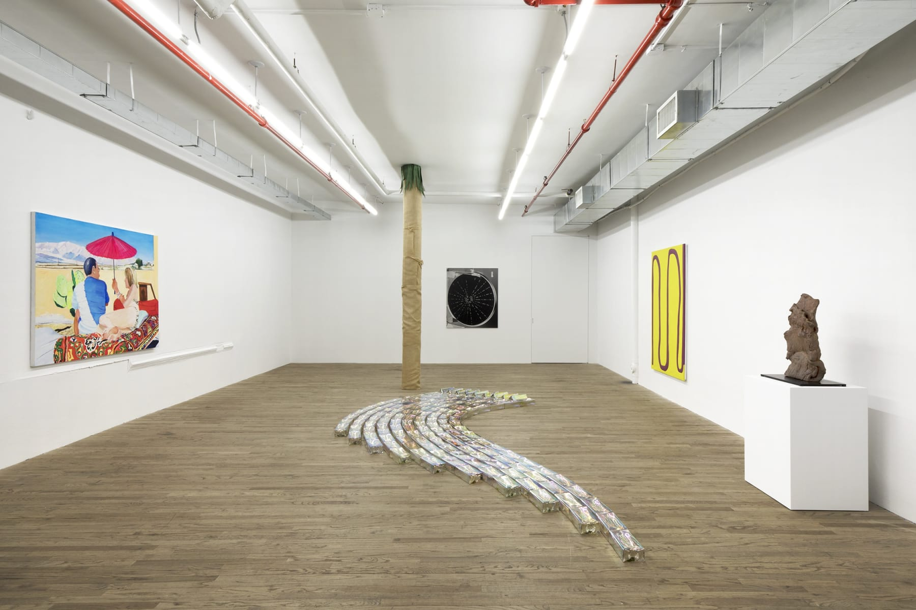 installation view, kaufmann repetto, new york