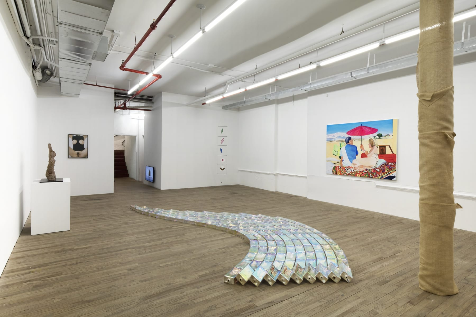 installation view, kaufmann repetto, new york