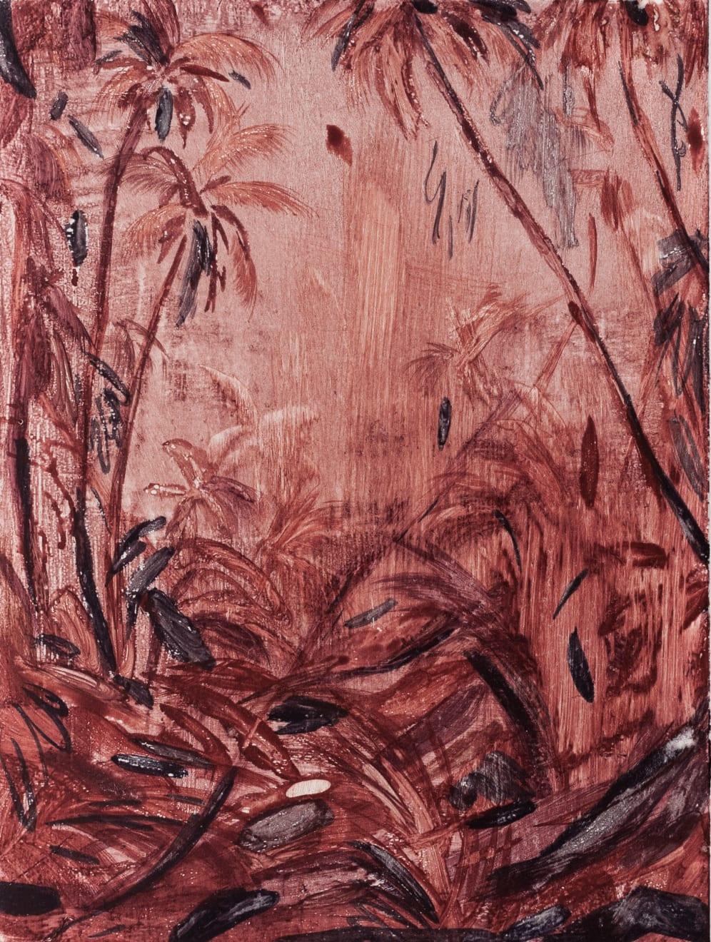 Alexia Vogel Pink Fervor Watercolour Monotype on Hahnemühle Original Image size: 14.7 x 19.8 cm Paper size: 23.7 x 29 cm $300 £150 SOLD