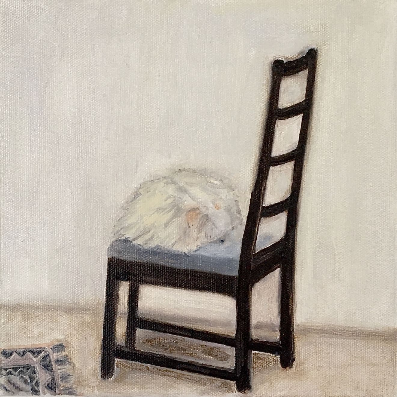 Elynor Smithwick Sleeping Oil on Canvas Original 20 x 20 cm $750 £375 SOLD