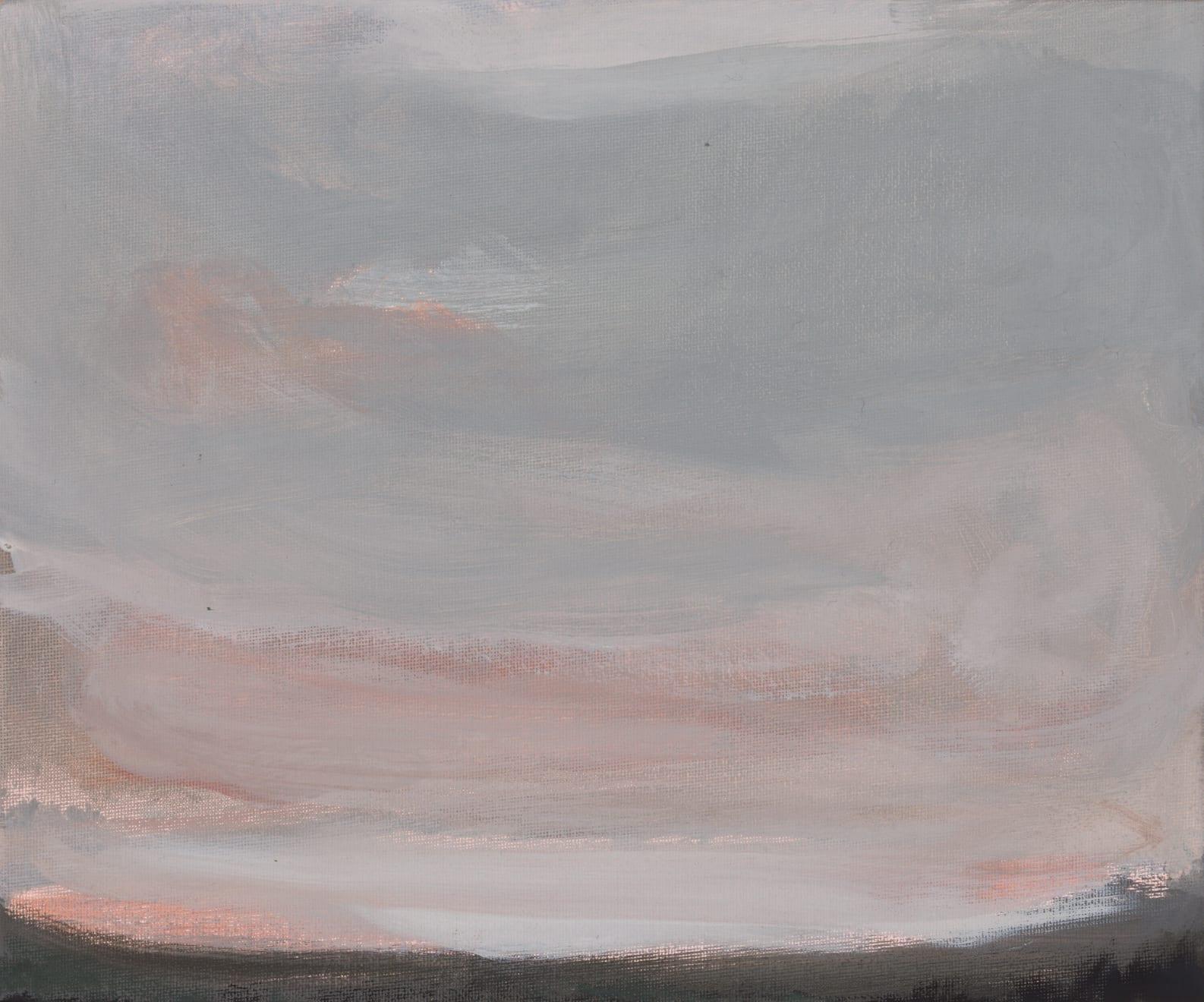 Greg Wood V17 Reimagining 2020 Oil on Canvas Board Original Charcoal Frame 30 x 25.5 cm $1100 £550 SOLD