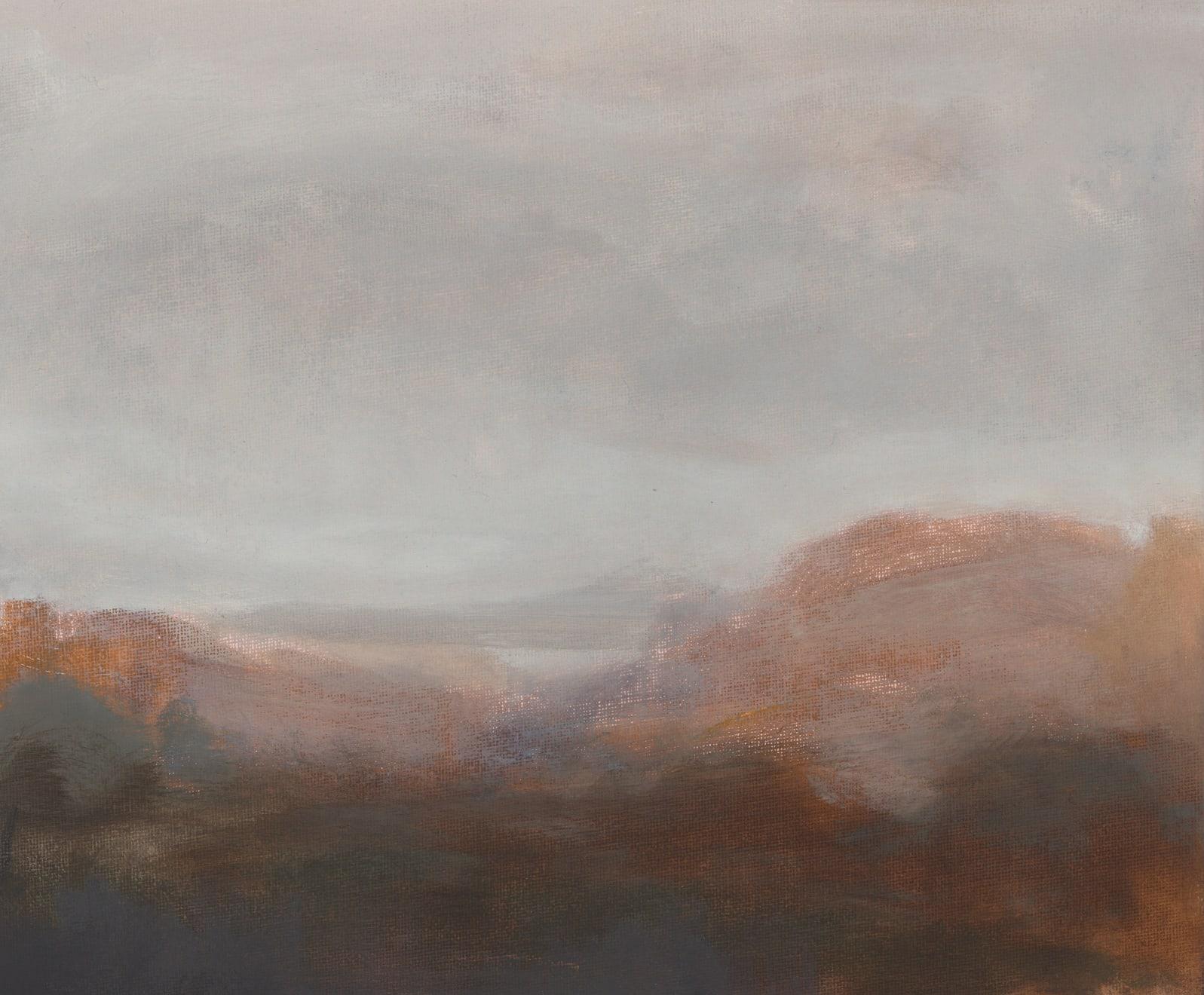 Greg Wood V18 Reimagining 2020 Oil on Canvas Board Original Charcoal Frame 25.5 x 30.5 cm $1100 £550 SOLD