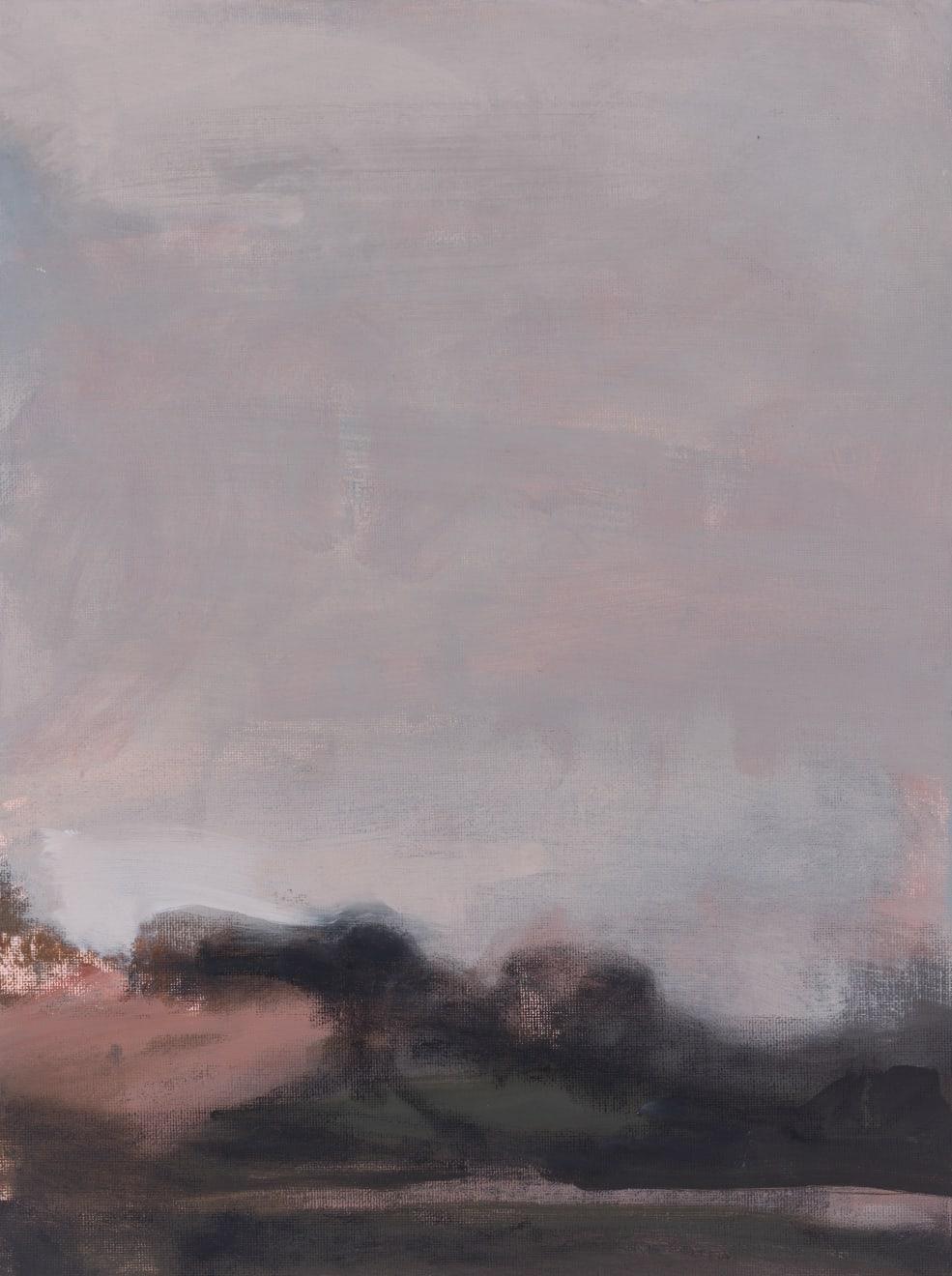Greg Wood V19 Reimagining 2020 Oil on Canvas Board Original Charcoal Frame 31 x 41 cm $1800 £900 SOLD