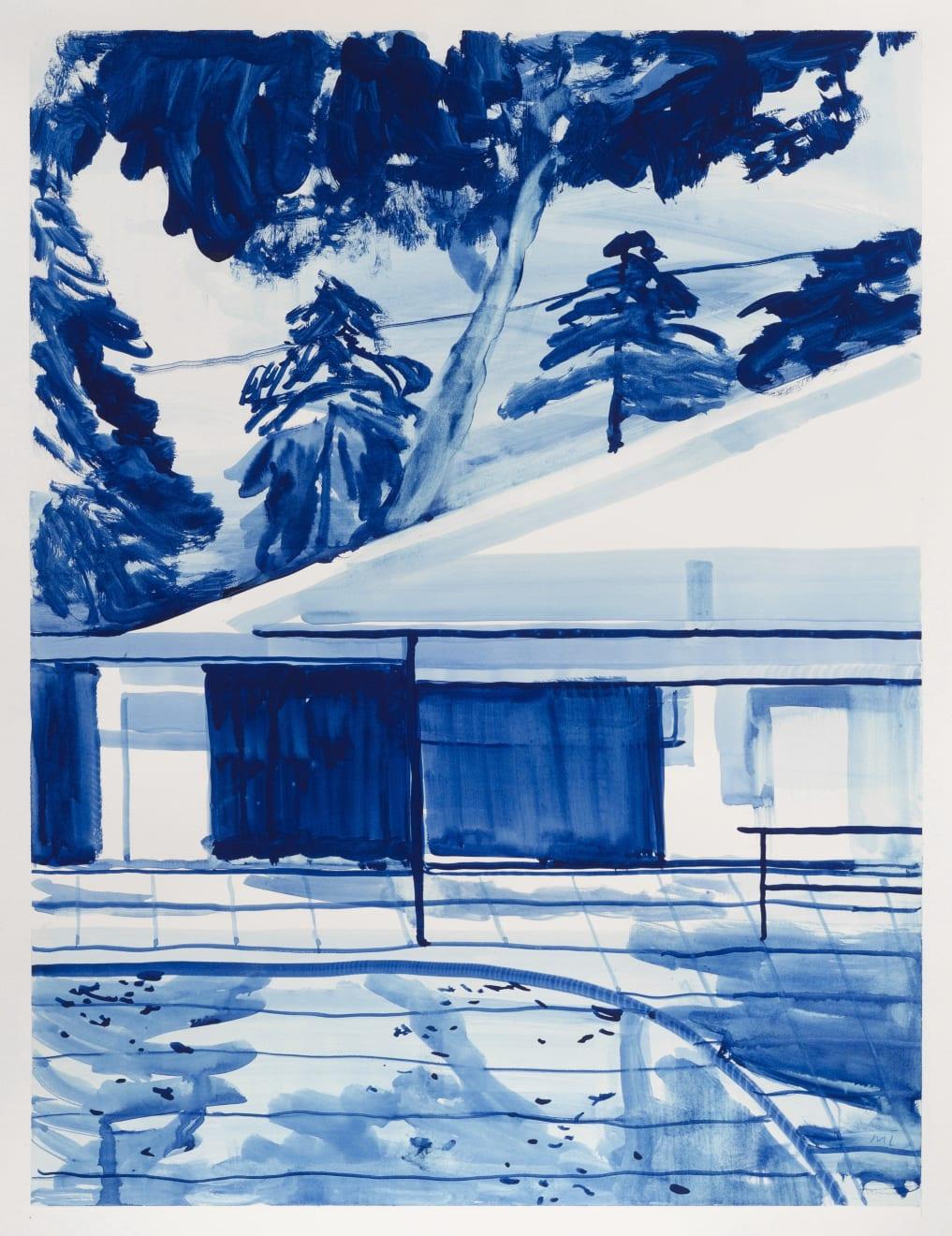 Michael Taylor Playing House Gouache on Paper Original 65 x 50 cm $3000 £1500