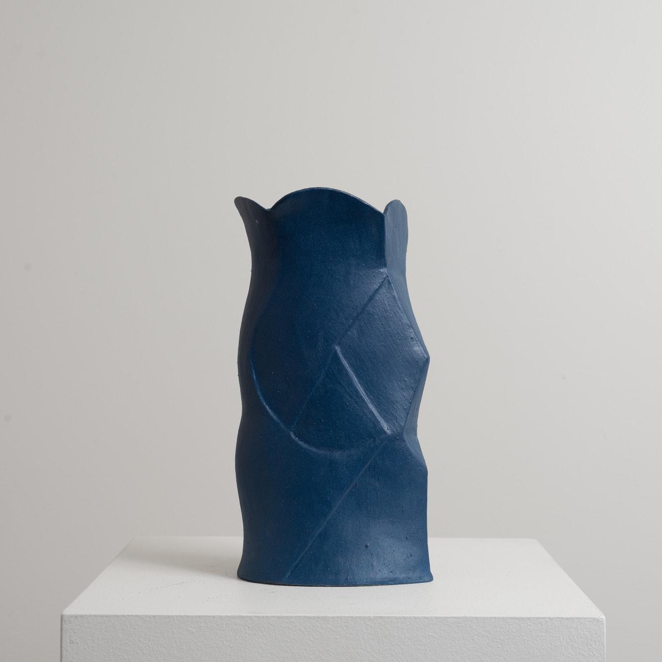 Bettina Willner-Browne Diamond and Ellipse Hand-Built, Stoneware, Glaze Original 28.5 x 14.5 x 9 cm $950 £475